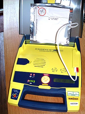 Automated External Defibrillator (AED) Open an...