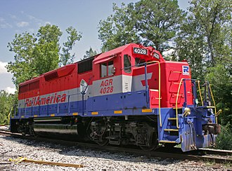 Alabama and Gulf Coast Railway - Image: AGRR 4028