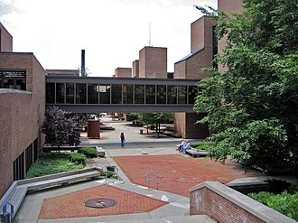 Albany High School is the central high school of the City School District of Albany. AHSCourtyard.JPG