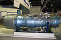 AL-31F M2 engine with thrust vector control at Engineering Technologies 2012 01.jpg