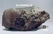 Ανταρκτική-Μετεωρίτες-ALH84001