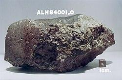 Météorite ALH84001.