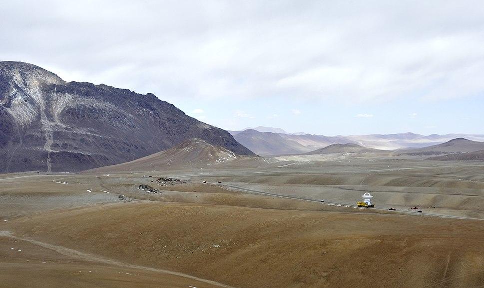 ALMA en route to Chajnantor (Landscape)