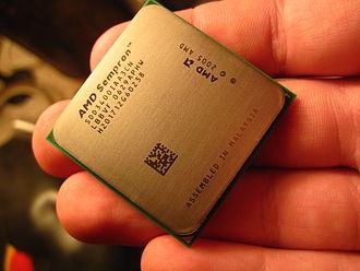 Sempron - Image: AMD Sempron 3400+