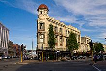 L'ANZ Bank di Christchurch