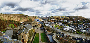 Bouillon - Image: A Panoramic View (Explore) (6693947035)