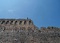A Remote view of Golconda fort walls, Hyderabad.jpg