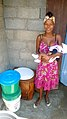 A SOIL EkoLakay customer in her home (15714325967).jpg