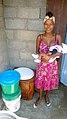 A SOIL EkoLakay customer in her home (15714325967).jpg