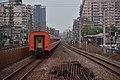 A TRA Chu-kuang Express heading toward Shulin Station from South Shulin Station 01.jpg