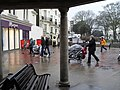 A brief respite under the bandstand - geograph.org.uk - 1740783.jpg