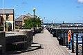 A dockside walkway - geograph.org.uk - 1882546.jpg