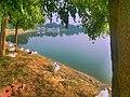 A lake at Pipliapala park Indore Madhya Pradesh.jpg