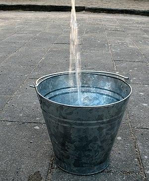 A metal bucket. Image taken on 2007-04-12 in L...