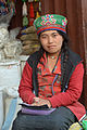 A young woman at Boudhanath - c.jpg