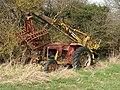 Abandoned Massey Ferguson tractor with Webb grab - geograph.org.uk - 1206554.jpg