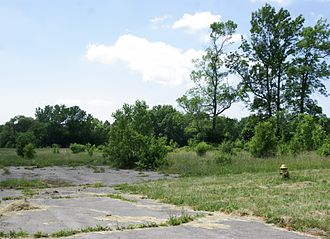 Occidental Petroleum - An abandoned parking lot near Love Canal