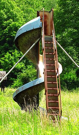 Abandoned playground in McDowell County, West Virginia