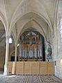 Abbaye de Royaumont - Orgue réfectoire des moines 01.jpg