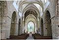 Abbaye de la Lucerne, église, vue depuis la nef.JPG