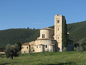 Image illustrative de l'article Abbaye de Sant'Antimo