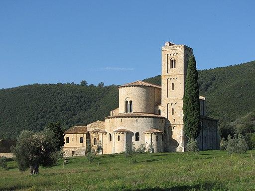 L'Abbazia di Sant'Antimo (Montalcino)
