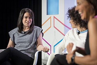 Abbi Jacobson - Jacobson and Glazer at Internet Week in 2015