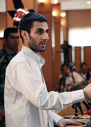 Abdolmalek Rigi - Rigi on trial in Islamic Revolutionary Court, 18 June 2010