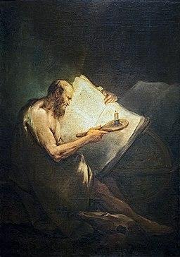 Accademia - Pitagora filosofo - Pietro Longhi Cat.479 130x91cm