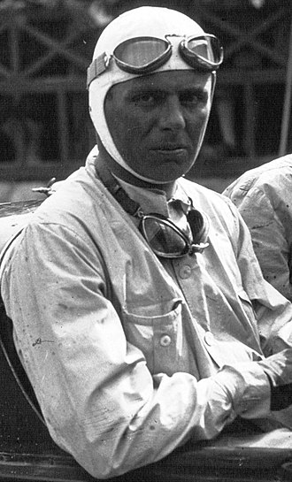 Achille Varzi - Image: Achille Varzi in his Alfa Romeo at the 1930 Targa Florio (4) (cropped)