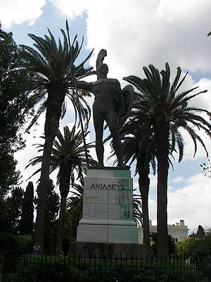 300px Achilles in Corfu