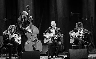2017 in jazz - Acoustic Connection during Djangofestivalen at Cosmopolite in Oslo.