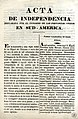 Acta de Independencia de las Provincias Unidas en Sud América - Español - Aymara.jpg