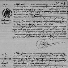 Etat Civil Indigene D Algerie Wikipedia