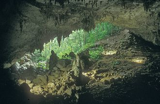 Chiquibul Cave System - Entrance to Actun Kabal, part of the Chiquibul Cave System, in Belize