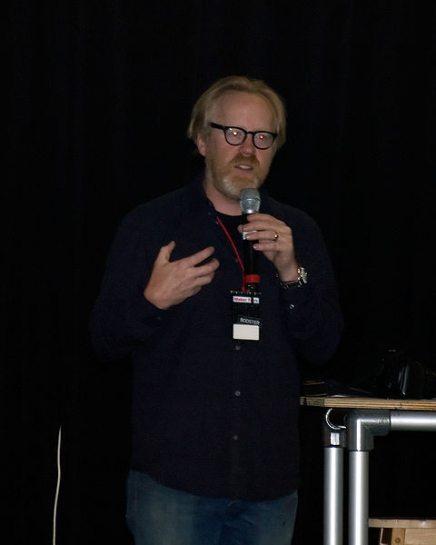 File:Adam Savage 02 - Maker Faire 2009.jpg