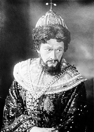 Adamo Didur - Image: Adamo Didur in Boris Godunov