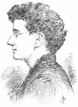 Adeline Knapp - Sketch of Adeline Knapp, 1892