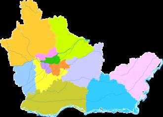 Xinxiang - Image: Administrative Division Xinxiang