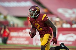 Jackson playing for USC in 2015. 69c3b112b