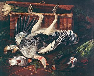 Broel Museum - Image: Adriaen van Utrecht Fowl and vegetables