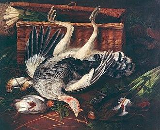 Broel Museum - Image: Adriaen van Utrecht Fowl and vegetables