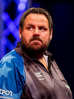 Adrian Lewis English darts player