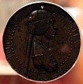 Adriano fiorentino, medaglia di emilia pia da montefeltro, urbino, 1495, 01.jpg