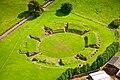 Aerial view of Caerleon Roman amphitheatre.jpg