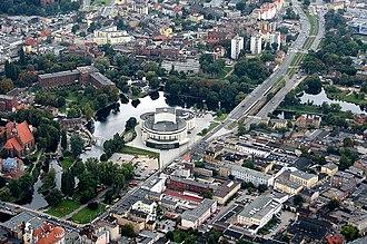 Opera Nova Bydgoszcz - Bird eye view