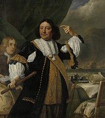Portrait of Aert van Nes (1626-93), Vice admiral