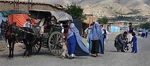 Street scene, Afghanistan