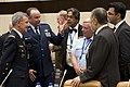 Air Force General Philip Breedlove speaks with Ministers of Defense and foreign military members.jpg