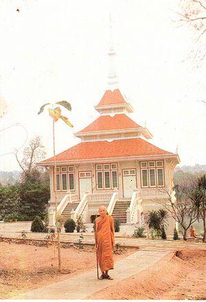 Ajahn Thate - Ajahn Thate at Wat Hin Maak Peng c1991
